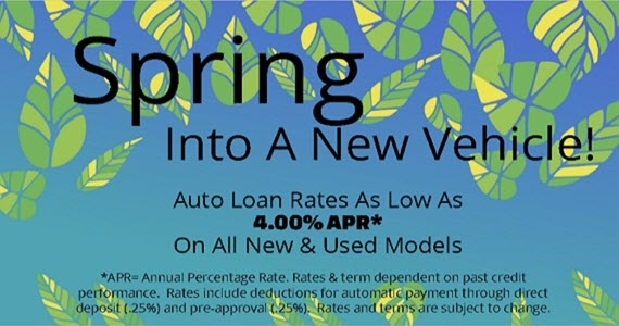 A background image of floating green leaves against a blue background.  